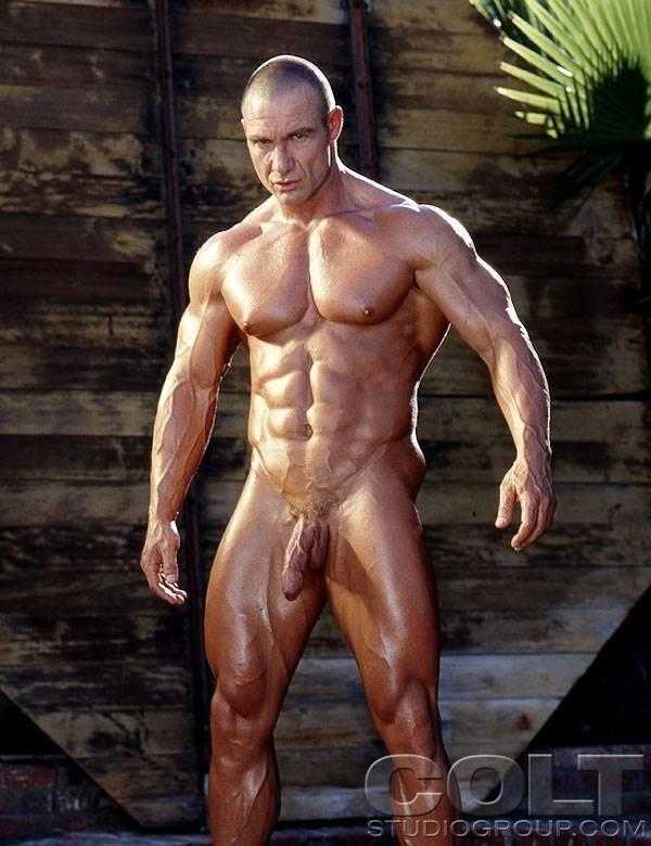 homens sarados nus